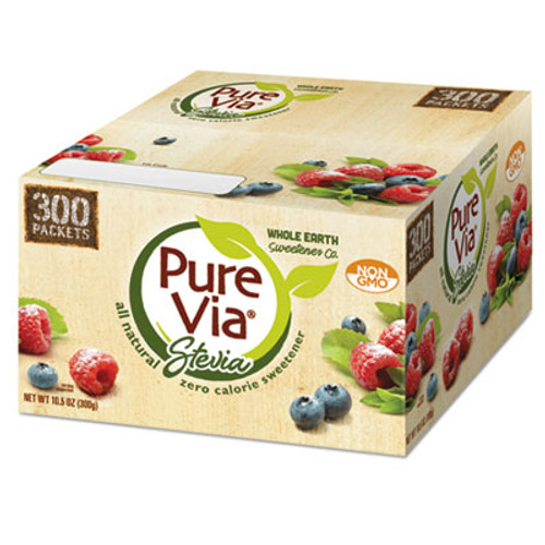 Pure Via Zero Calorie Sweetener, 300/Box (EQL00105)