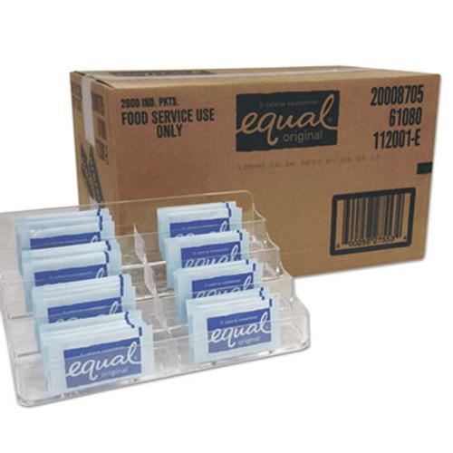 Equal Zero Calorie Sweetener  0 035 oz Packet  2000 Carton (EQL827553)