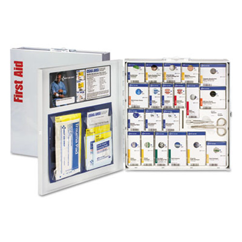 First Aid Only ANSI 2015 SmartCompliance First Aid Station f 50 People  No Medication  202Piece (FAO746004)