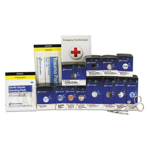 First Aid Only Medium Metal SmartCompliance Food Service Refill Pack  94 Pieces (FAO90692)