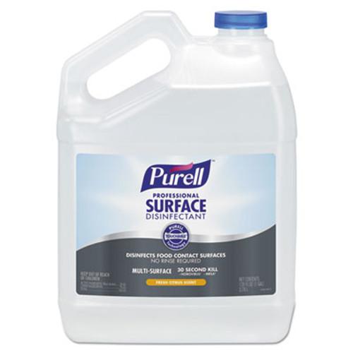 PURELL Professional Surface Disinfectant  Fresh Citrus  1 gal Bottle  4 Carton (GOJ434204)