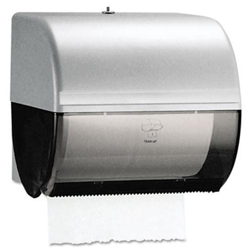 Kimberly-Clark Professional* Omni Roll Towel Dispenser  10 1 2 x 10 x 10  Smoke Gray (KCC09746)