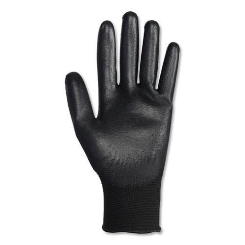 KleenGuard G40 Polyurethane Coated Gloves  220 mm Length  Small  Black  60 Pairs (KCC13837)