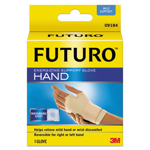 FUTURO Energizing Support Glove  Medium  Palm Size 7 1 2  - 8 1 2   Tan (MMM09183EN)