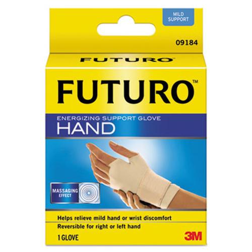 FUTURO Energizing Support Glove  Medium  Palm Size 7 1 2  - 8 1 2   Tan (MMM09183EN)