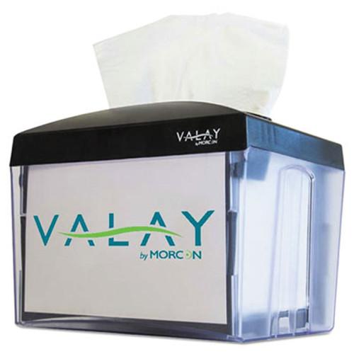 Morcon Tissue Valay Table Top Napkin Dispenser  6 25 x 8 x 6 5  Black (MORNT111EA)
