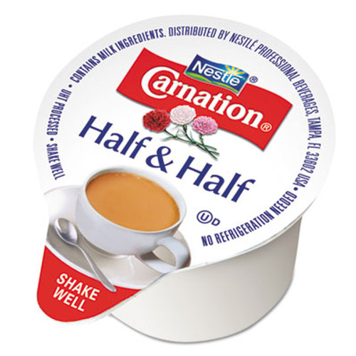 Carnation Half   Half  0 304 oz Cups  180 Carton (NES21501)