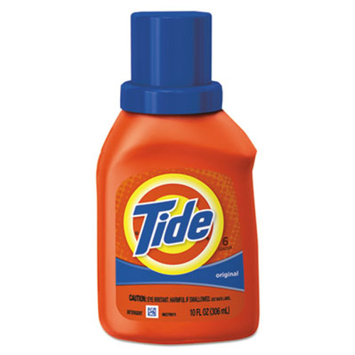 Tide Liquid Laundry Detergent  Original Scent  10 oz Bottle  12 Carton (PGC00471)
