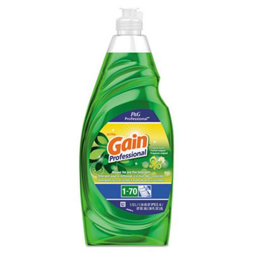 Gain Professional Manual Pot and Pan Dish Detergent  Gain Original  38 oz Bottle (PGC70740CT)