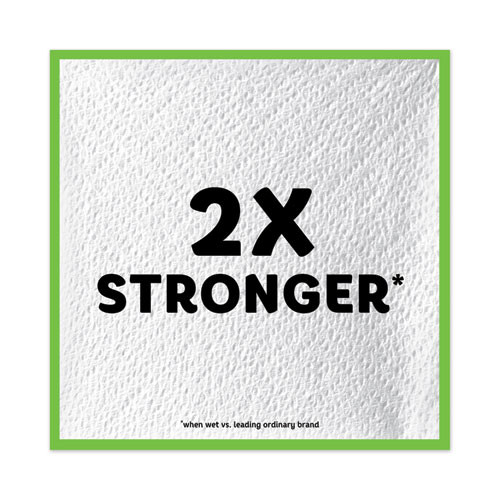 Bounty Quilted Napkins  1-Ply  12 1 10 x 12  White  200 Pack  8 Pack Carton (PGC96595CT)