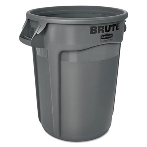 Rubbermaid Commercial Brute Round Containers, 32 gallon, Black (RCP1867531EA)