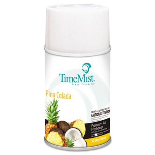 TimeMist Premium Metered Air Freshener Refill  Pina Colada  6 6 oz Aerosol  12 Carton (TMS1042690)