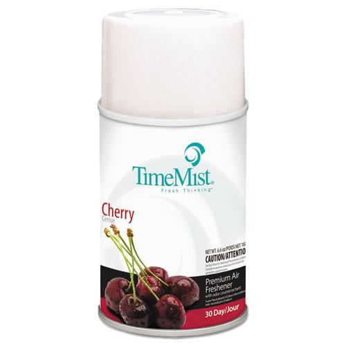 TimeMist Premium Metered Air Freshener Refill  Cherry  6 6 oz Aerosol  12 Carton (TMS1042700)