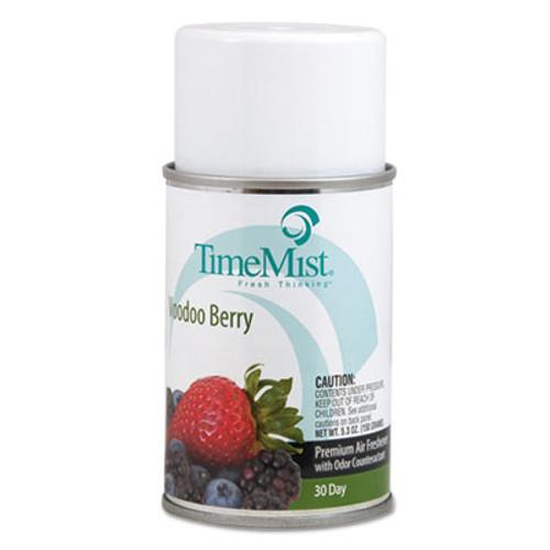TimeMist Premium Metered Air Freshener Refill  Voodoo Berry  5 3 oz Aerosol (TMS1042727EA)
