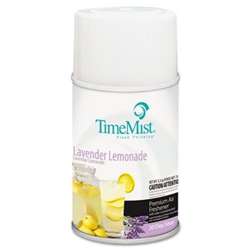 TimeMist Metered Fragrance Dispenser Refill, Lavender Lemonade, 6.6 oz, Aerosol (TMS1042757)