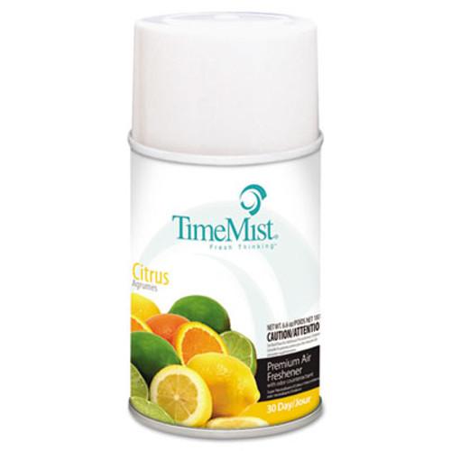 TimeMist Premium Metered Air Freshener Refill  Citrus  6 6 oz Aerosol  12 Carton (TMS1042781)