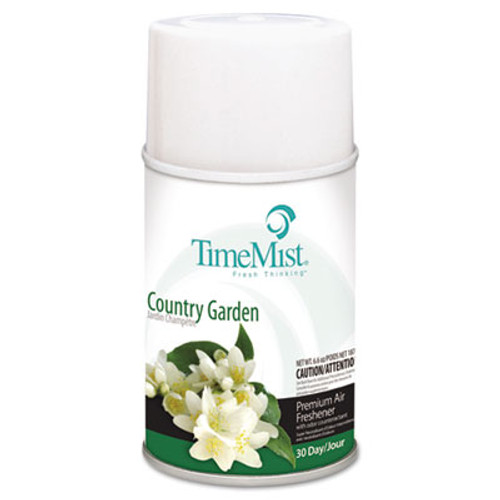 TimeMist Metered Fragrance Dispenser Refill, Country Garden, 6.6oz Aerosol (TMS1042786EA)