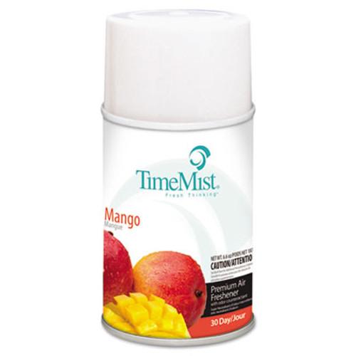 TimeMist Premium Metered Air Freshener Refill  Mango  6 6 oz Aerosol  12 Carton (TMS1042810)
