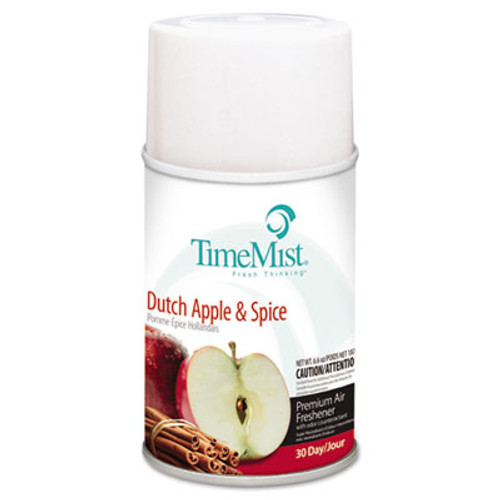 TimeMist Premium Metered Air Freshener Refill  Dutch Apple   Spice  6 6 oz Aerosol (TMS1042818EA)