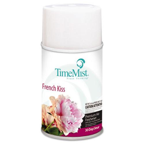 TimeMist Premium Metered Air Freshener Refill  French Kiss  6 6 oz Aerosol  12 Carton (TMS1042824)