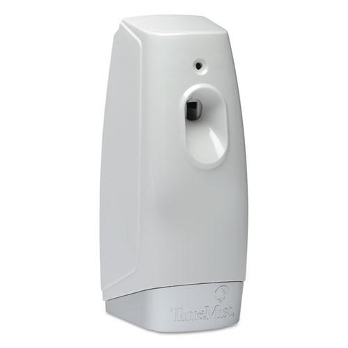 TimeMist Micro Metered Air Freshener Dispenser  3 38  x 3  x 7 5   White (TMS1047824EA)