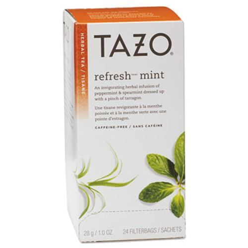 Tazo Tea Bags  Refresh Mint  1 oz  24 Box (TZO149902)