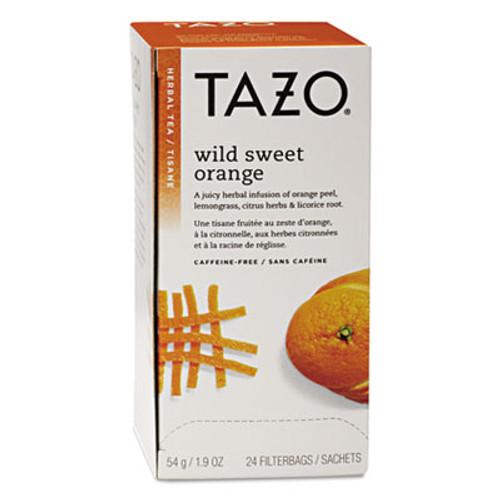 Tazo Tea Bags  Wild Sweet Orange  24 Box (TZO151598)