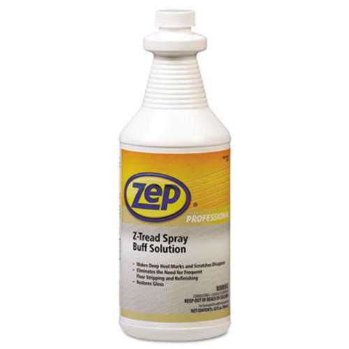 Zep Professional Z-Tread Buff-Solution Spray, Neutral, 1qt Bottle (ZPP1041424)