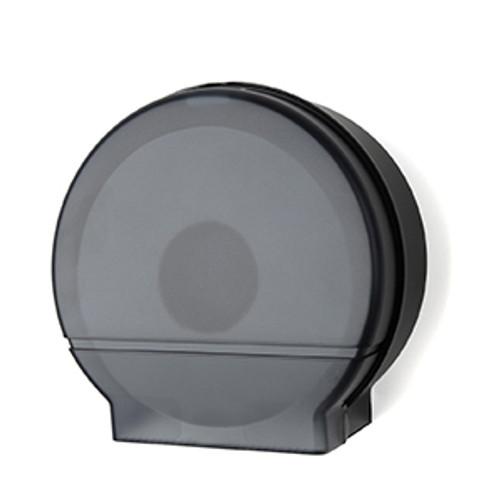 "Palmer Fixture Single 9"" Jumbo Tissue Dispenser - Black Translucent"