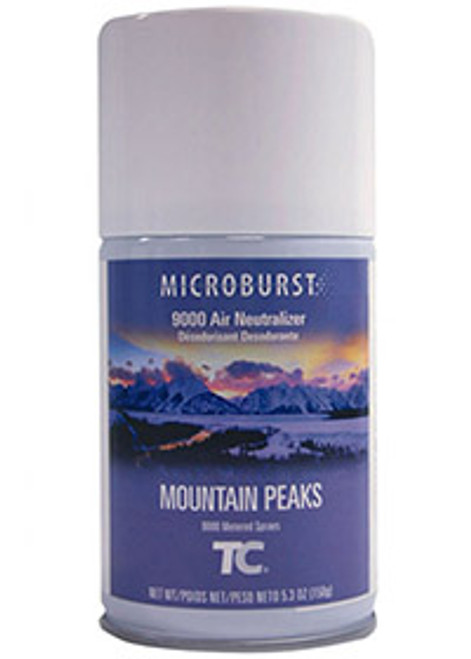 Rubbermaid Microburst 9000 Refills (Case of 4) - Mountain Peaks