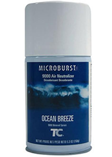 Rubbermaid Microburst 9000 Refills (Case of 4) - Ocean Breeze (TEC401247)