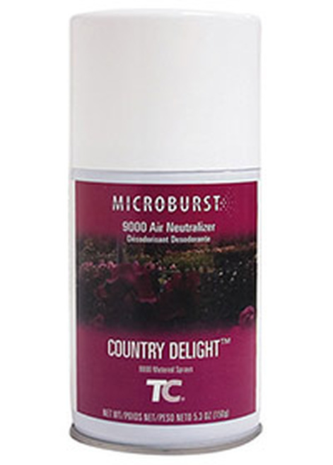 Rubbermaid Microburst 9000 Refills (Case of 4) - Country Delight (TEC401248)