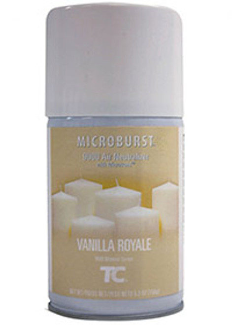 Rubbermaid Microburst 9000 Refills (Case of 4) - Vanilla Royale (TEC401694)