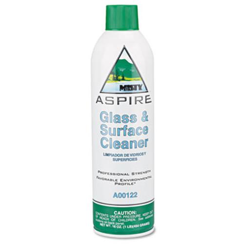 Misty Aspire Glass & Surface Cleaner, Lemon Scent, 16oz Aerosol (AMR1038044)