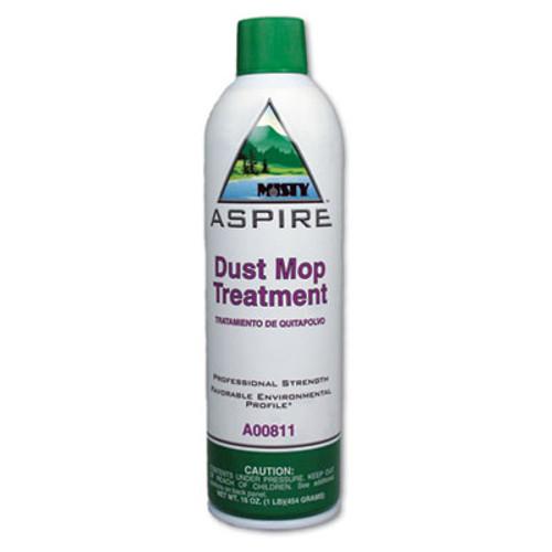 Misty Aspire Dust Mop Treatment, Lemon Scent, 20 oz. Aerosol Can, 12/Carton (AMR1038049)