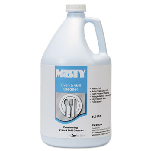 Misty Heavy-Duty Oven and Grill Cleaner, 1 gal. Bottle (AMR1038695)