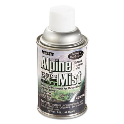 Misty Metered Odor Neutralizer Refills, Alpine Mist, 7oz, Aerosol, 12/Carton (AMR1039401)