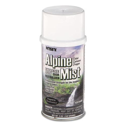 Misty Odor Neutralizer Fogger, Alpine Mist, 5oz, Aerosol, 12/Carton (AMR1039402)