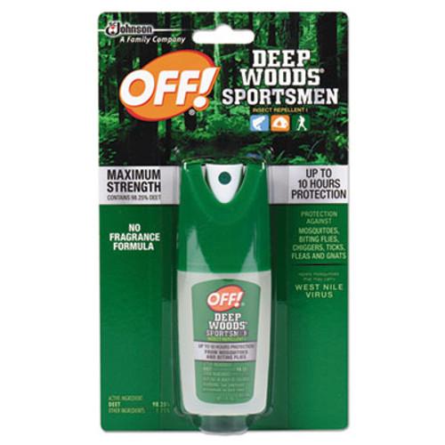 OFF! Deep Woods Sportsmen Insect Repellent, 1 oz Spray Bottle (SJN611090)