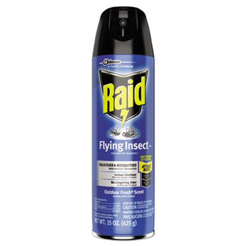 Raid Flying Insect Killer, 15 oz Aerosol, 12/Carton (SJN617717)