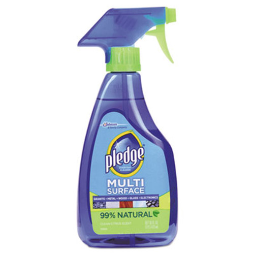 Pledge Multi-Surface Cleaner, Clean Citrus Scent, 16oz Trigger Bottle (SJN644973EA)