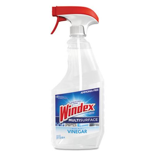 Windex Multi-Surface Vinegar Cleaner, Fresh Clean Scent, 23 oz Spray Bottle (SJN679596EA)