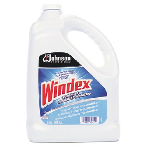 Windex Powerized Formula Glass & Surface Cleaner, 1gal Bottle, 4/Carton (SJN696503)