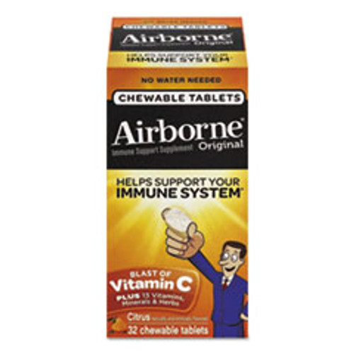 Airborne Immune Support Chewable Tablets  32 Tablets per box (ABN97971)