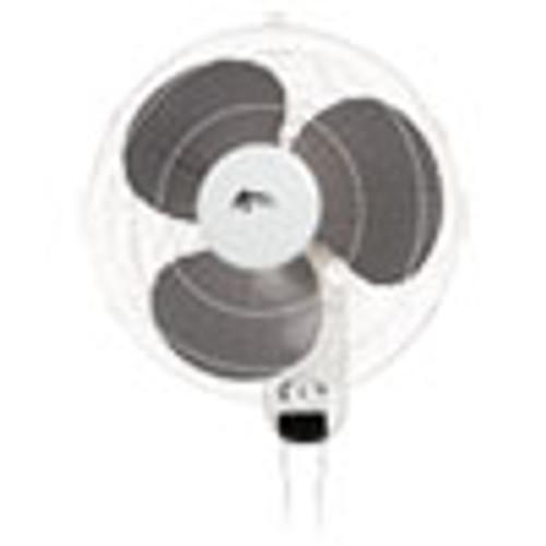 Alera Wall Mount Fan  3-Speed  White (ALEFANWM16W)