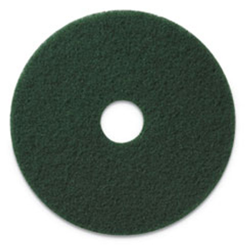 Americo Scrubbing Pads  13  Diameter  Green  5 CT (AMF400313)