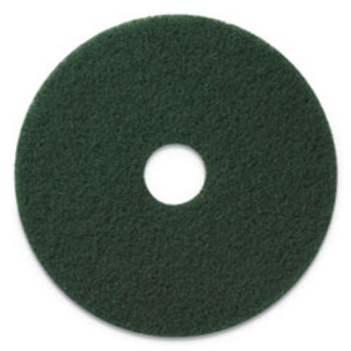 Americo Scrubbing Pads  20  Diameter  Green  5 CT (AMF400320)