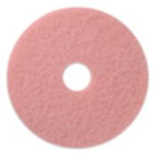 Americo Remover Burnishing Pads  20  Diameter  Pink  5 CT (AMF403420)