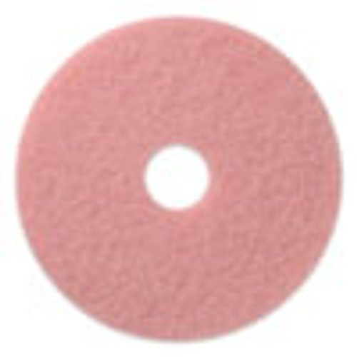 Americo Remover Burnishing Pads  20  Diameter  Pink  5 CT (AMF403420)