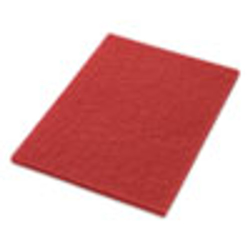 Americo Buffing Pads  28w x 14h  Red  5 CT (AMF40441428)